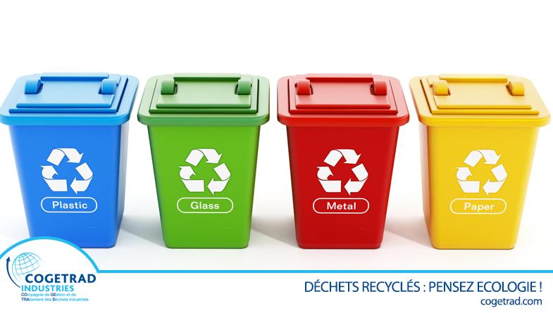 Actualité Cogetrad Recyclage de déchets