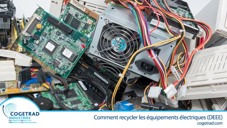 recycler déchets électriques électroniques Cogetrad