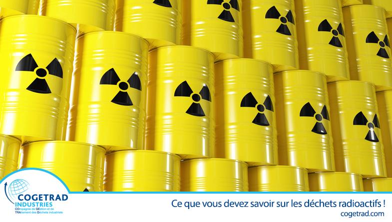 Cogetrad actualité déchets radioactifs
