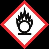 symboles danger comburant