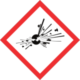 symboles danger explosif