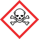 symboles danger toxique