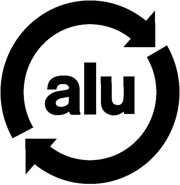 logo emballage produits aluminium recyclable