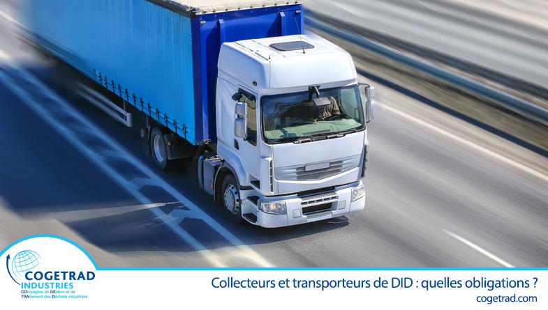 Collecteurs et transporteurs de DID