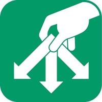 logo directionnel dechetterie