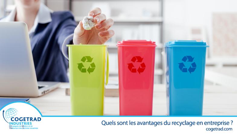 les bénéfices du recyclage en entreprise