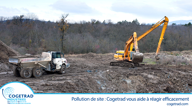 Pollution de site industrielle Cogetrad