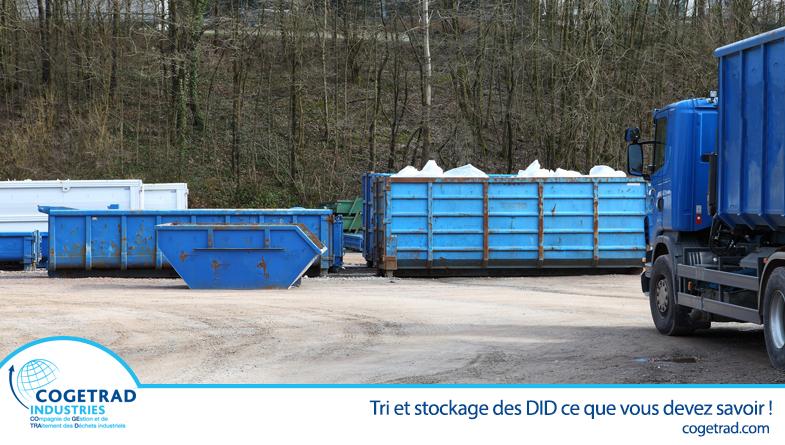 Tri et stockage des déchets industriels dangereux