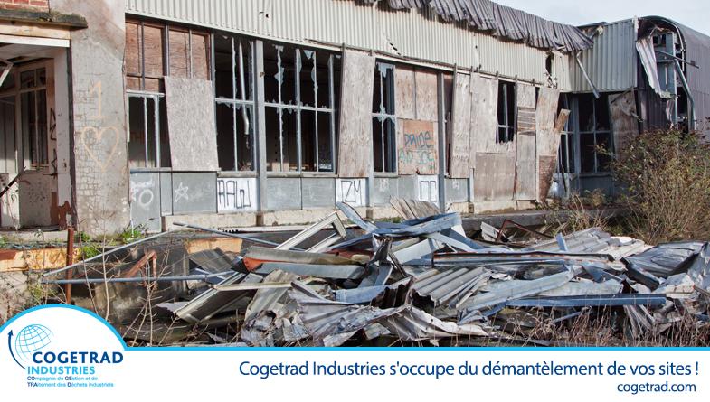 démantèlement site industriel et réhabilitation