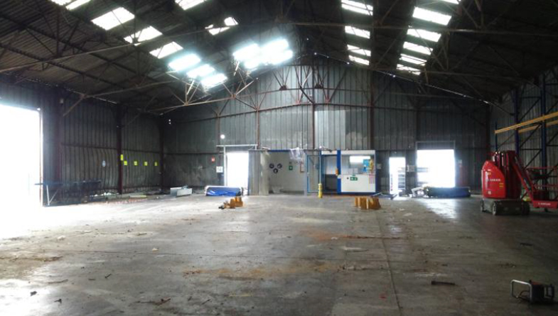 Démolition bâtiment Cogetrad industries