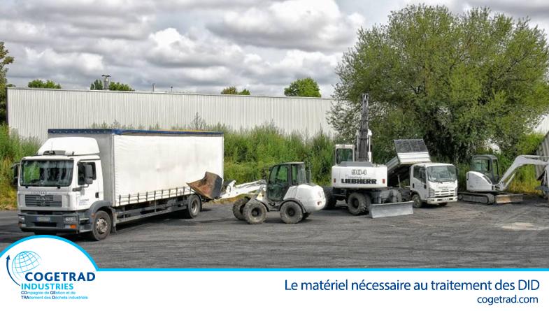 traitement de déchets industriels dangereux