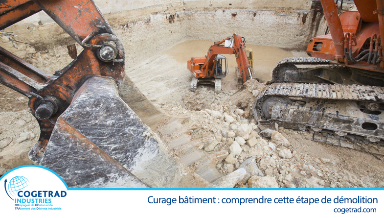 Curage bâtiment par Cogetrad Industries