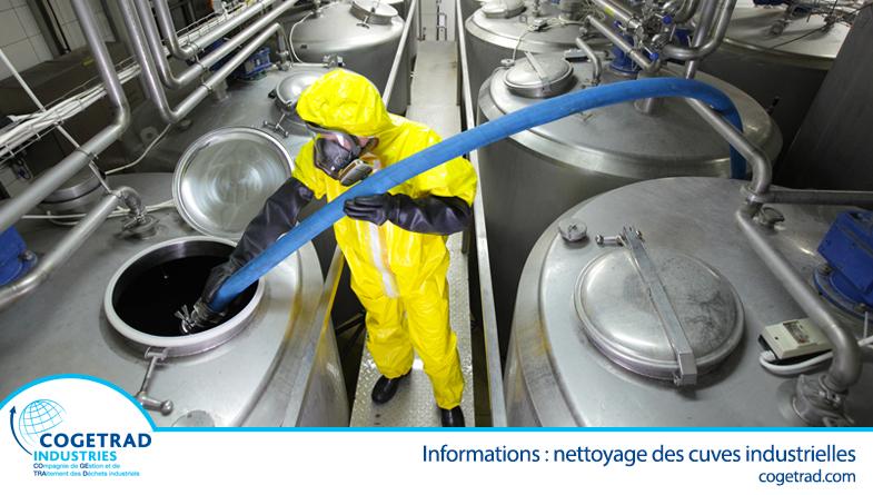 Information : nettoyage des cuves industrielles